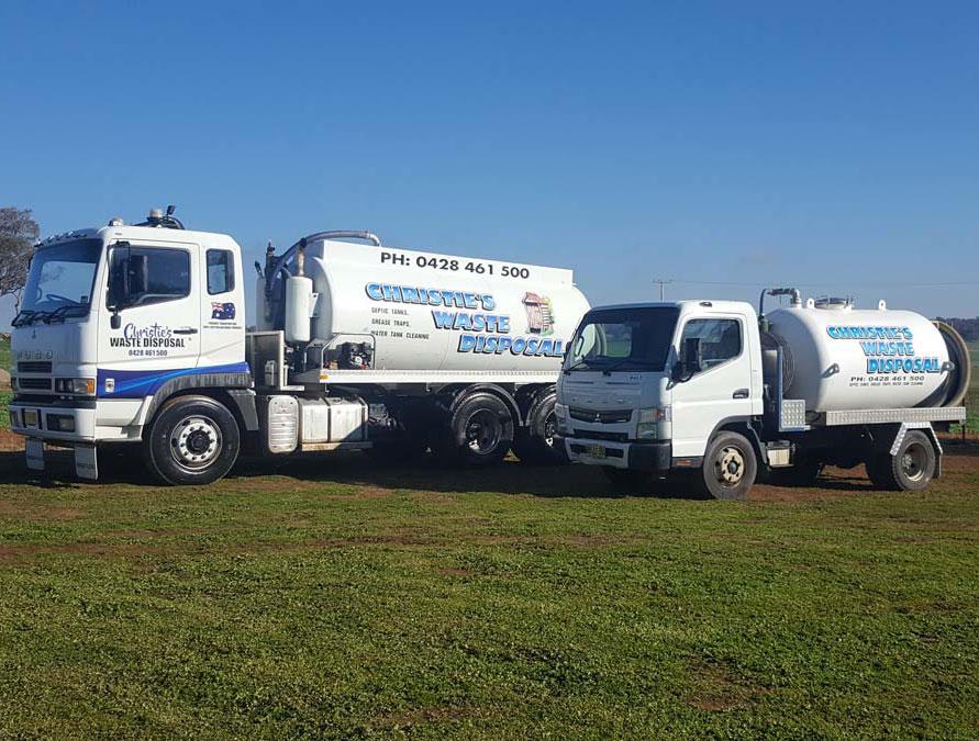 Christie's Liquid Waste Disposal - Trucks